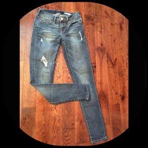 Aeropostale distressed  jegging  jeans